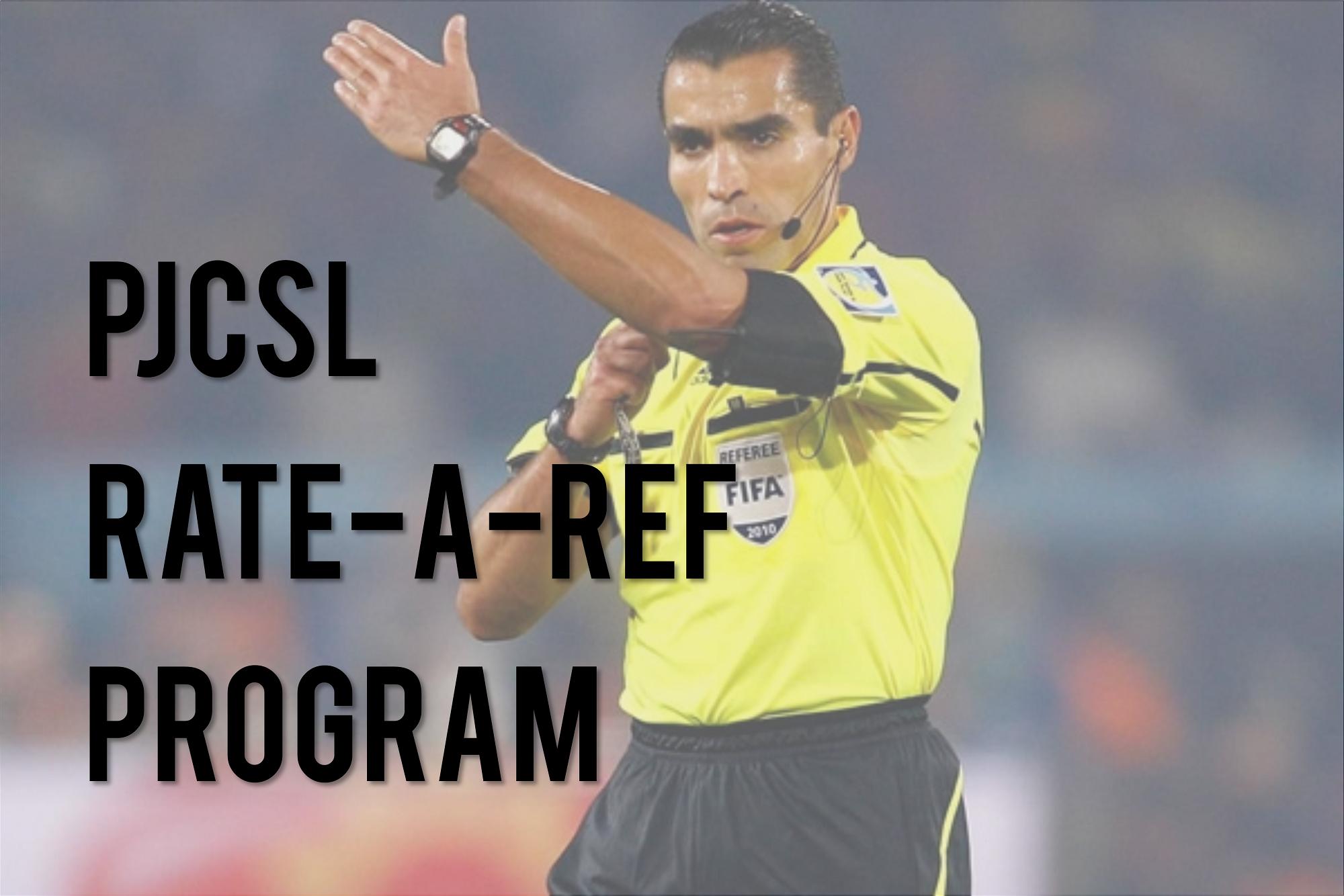 PCJSL Rate A Ref Program