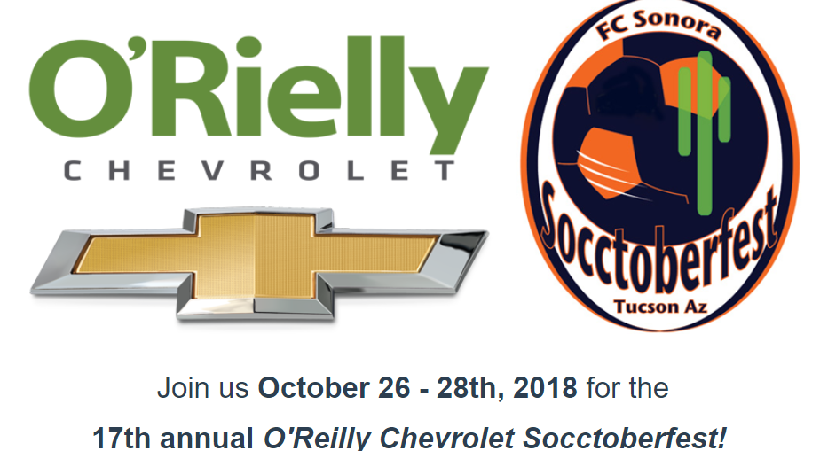 17th Annual O'Reilly Chevrolet Socctoberfest! – PCJSL